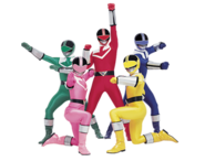 Power Rangers Time Force (Team)