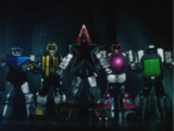 Comparison:Ep. 33: The Five Robos' Great Riot vs. A Golden Homecoming
