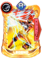 Go-on Red Card in Super Sentai Legend Wars