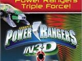 Power Rangers in 3D