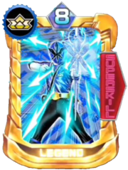 ShinkenBlue Card in Super Sentai Legend Wars