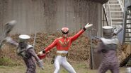 Gokai Change 35 Gosei Red
