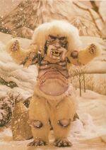 Monstre des neiges