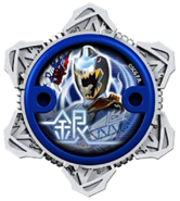 Dino Charge Silver Ninja Power Star