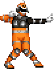 S.P.D. Orange Ranger S.W.A.T. Mode