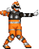 S.P.D. Orange Ranger S.W.A.T. Mode