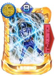 TriceraRanger Card in Super Sentai Legend Wars