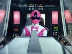 Maskman Pink cockpit