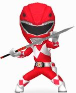 Mighty Morphin Red Ranger in Power Rangers Dash