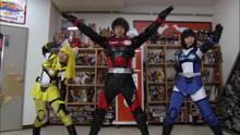 Hikonin Sentai Akibaranger Episode 13 - Akibarangers Without Helmets