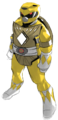 Tmnt michelangelo yellow ranger
