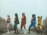Ep. 1: The Crimson Sun! The Invincible Gorengers