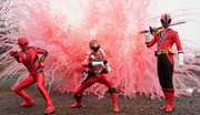 Geki, Go-On, & Shinken Red
