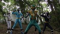 Gokai Ninja Change 1