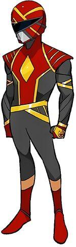 Red Omega Ranger