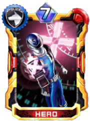 DekaBlue Card in Super Sentai Legend Wars