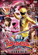 Gokaiger DVD Vol 10