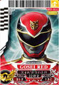 Gosei Red card