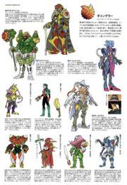 Lupinranger VS Patranger monsters and villain concept art 2