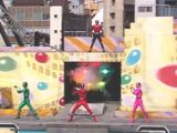 Timeranger Stage Show at Double Hero Korakuen Yuenchi