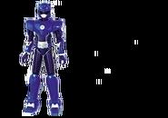 Blue Miniforce Ranger Figure