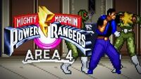 Mighty Morphin Power Rangers (SNES) - Area 4