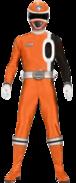 Orange Space Patrol Delta Ranger