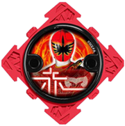 Mystic Force Red Ninja Power Star