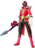 Red Samurai Ranger SH Figuarts Shark Attack