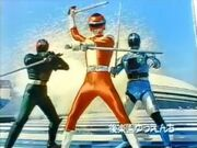 Red Turbo, Kamen Rider Black RX & Jiban
