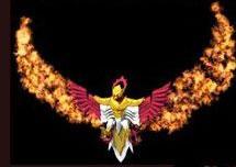 Мистическая Огненная Птица