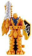 Gold RyuSoul (Knight Mode)