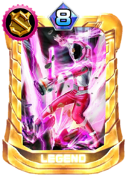 Patren3gou Card in Super Sentai Legend Wars