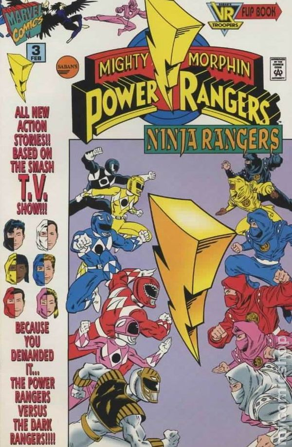 Mighty Morphin Power Rangers Ninja Rangers Issue 3