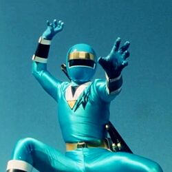 Alien Blue Ranger 1