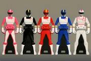 Changeman Ranger Keys
