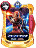 DekaRed & Space Sheriff Gavan Card in Super Sentai Legend Wars
