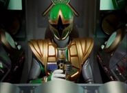 Ninja Storm green samurai cockpit