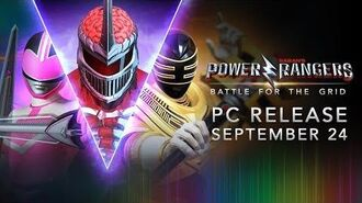 Power Rangers Battle for the Grid - PC Release September 24