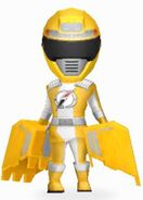 Yellow Overdrive Ranger in Power Rangers Dash