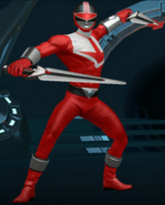 Legacy Wars Red Time Force Ranger