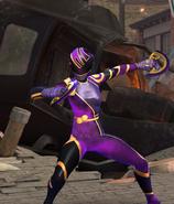 Legacy Wars Violet Solar Ranger Victory Pose