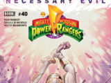 Mighty Morphin Power Rangers (Boom! Studios) Issue 40