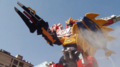 Dino Charge Megazord Para Stego Formation