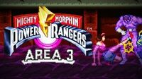 Mighty Morphin Power Rangers (SNES) - Area 3