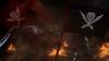 The battle-damaged Gokai Galleon