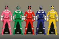 Timeranger Ranger Keys