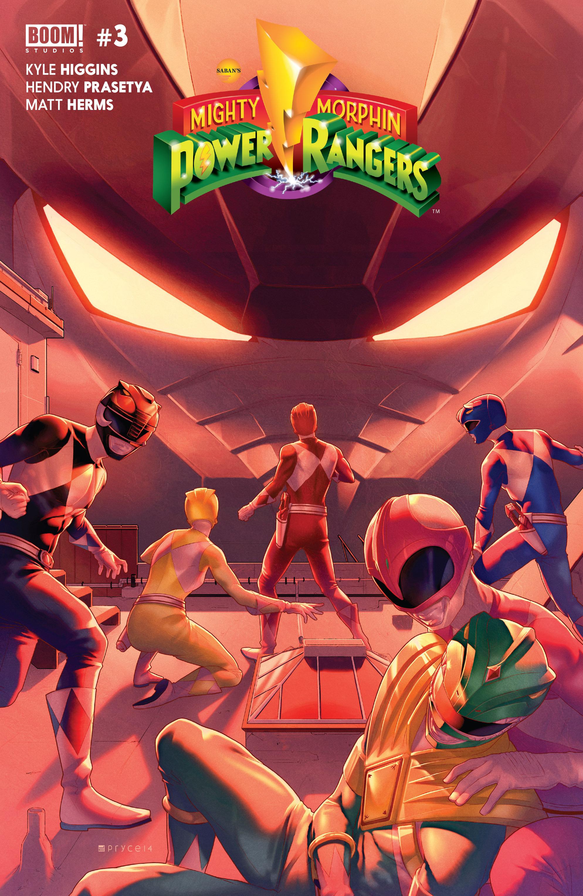 mighty morphin power rangers boom studios issue 3