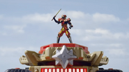 Ninja Steel Ultrazord Red