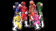 Power Rangers Train Force (Team)